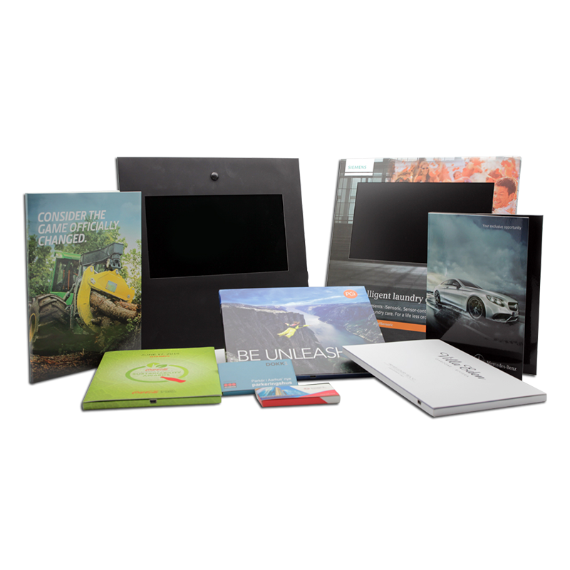 Video Business Card, Video POS & Video Book